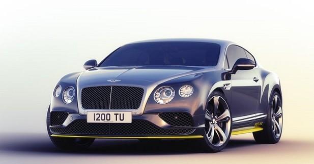 Bentley Continental GT : hommage à la patrouille Breitling