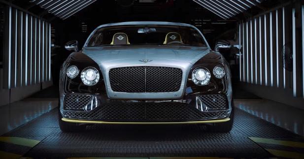 La genèse de la Bentley Continental GT Speed Breitling en vidéo
