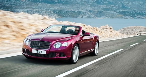 Bentley Continental GT Speed Convertible : Souveraine décapitée