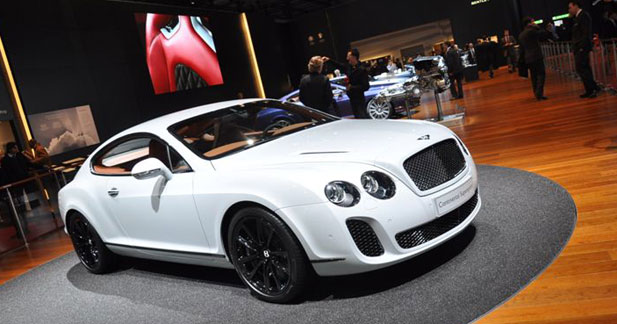 Bentley Continental Supersports : sportive au sang vert