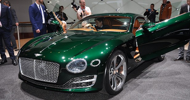 Bentley EXP 10 Speed 6: Continental GT en réduction