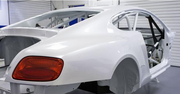 Bentley en plein développement du projet GT3