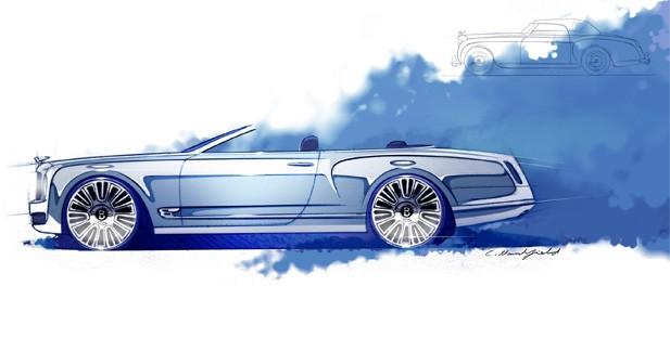 Bentley dévoile une version cabriolet de la Mulsanne