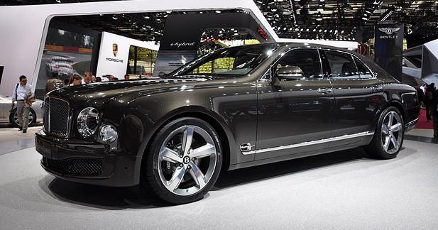 Mondial Auto 2014 : Bentley Mulsanne Speed