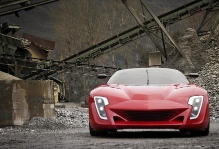 Bertone Mantide, concept radical sur base de Corvette ZR1