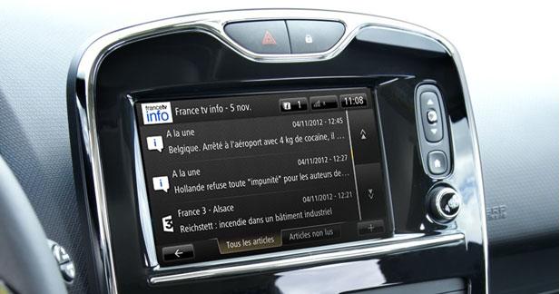La tablette R-Link arrive à bord des Renault Mégane et Latitude