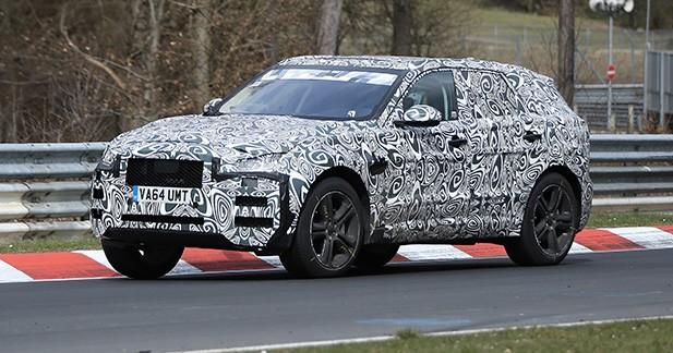 Spyshots : le Jaguar F-Pace se prépare pour 2016