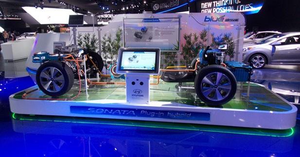 Hyundai passe à l'hybride rechargeable à Detroit
