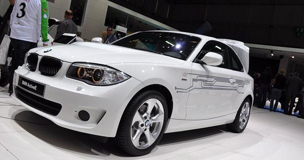BMW ActiveE : la version de pré-série à Genève