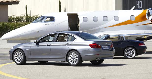 BMW confectionne l'intérieur de jets brésiliens