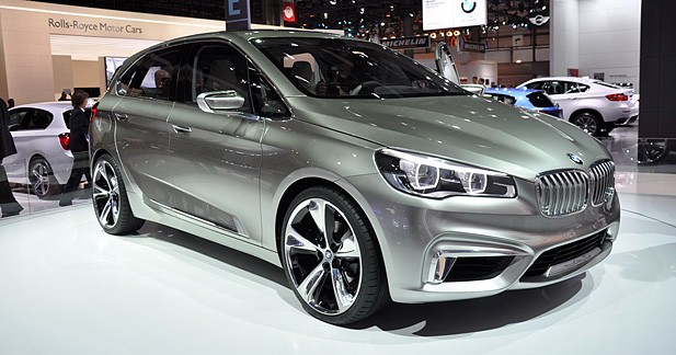 bmw concept active tourer le monospace compact selon bmw. Black Bedroom Furniture Sets. Home Design Ideas