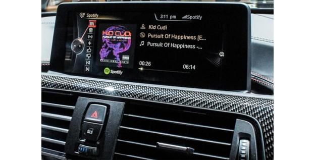 BMW ajoute Spotify à son système Connected Drive Apps