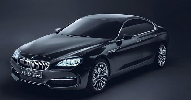 BMW Gran Coupé Concept : Déclinaisons allemandes