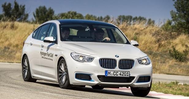 BMW présente son moteur à hydrogène développé avec Toyota