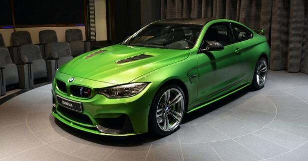 Cette BMW M4 Java Green fait le plein de stéroïdes