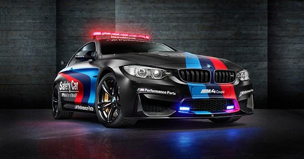 BMW M4 MotoGP Safety-car: maîtresse de cérémonie