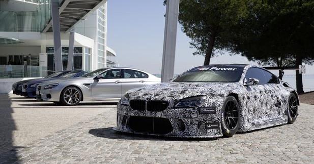 BMW M6 GT3: nouvelles photos officielles