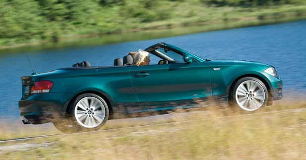 BMW Série 1 Cabriolet : topless chic