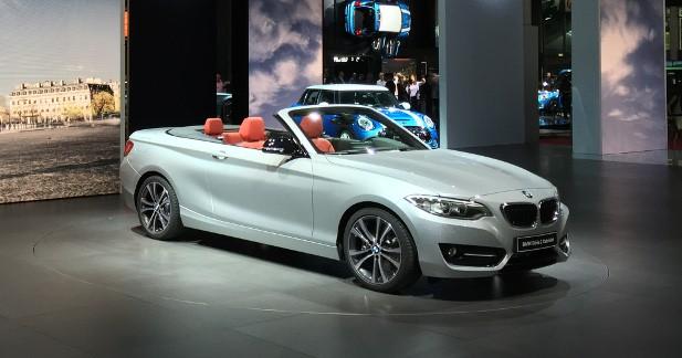 Mondial Auto 2014 : BMW Série 2 Cabriolet, la petite béhème tombe le haut