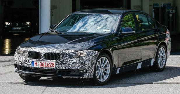 Spyshots: restylage détecté pour la BMW Série 3