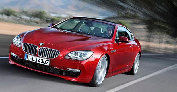 Nouveau Coupé Série 6 BMW : retour aux classiques