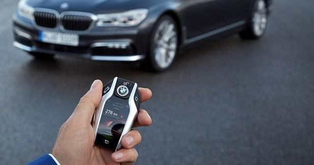 Une clé digne d'un smartphone pour la BMW Série 7