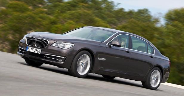BMW Série 7 restylée : Invisible pour les yeux