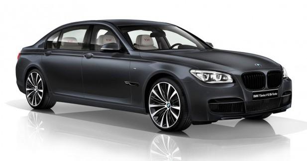 BMW Série 7 V12 Bi-Turbo : Exclusivité japonaise