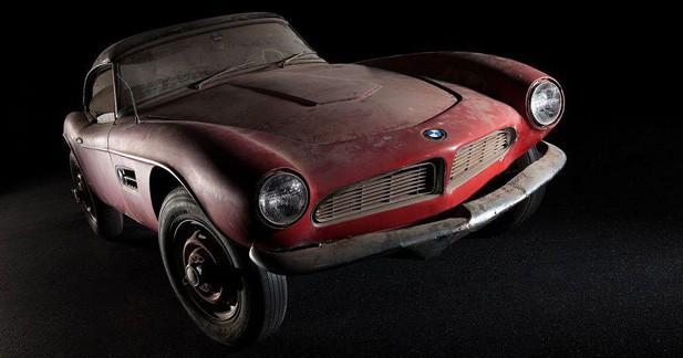 BMW va ressusciter la 507 Roadster d'Elvis
