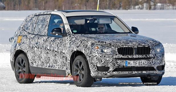 Spyshots : le prochain BMW X3 déjà surpris en tests hivernaux
