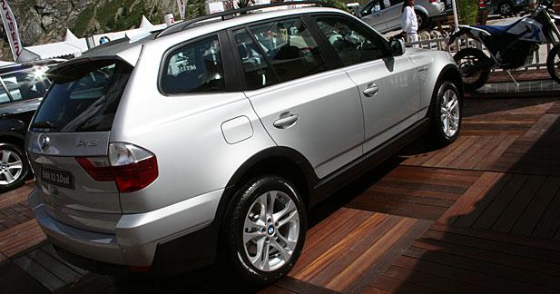 BMW X3 : toujours d'attaque