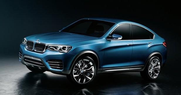 BMW X4 : Premières photos officielles