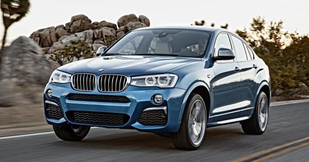 BMW X4 M40i: 6 cylindres inédit de 360 ch