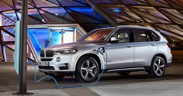 BMW X5 xDrive40e : l'hybride rechargeable de série