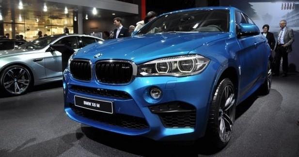 BMW X6 M: cœur de M6