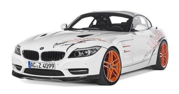 BMW Z4 5.0d AC Schnitzer: préparation au mazout