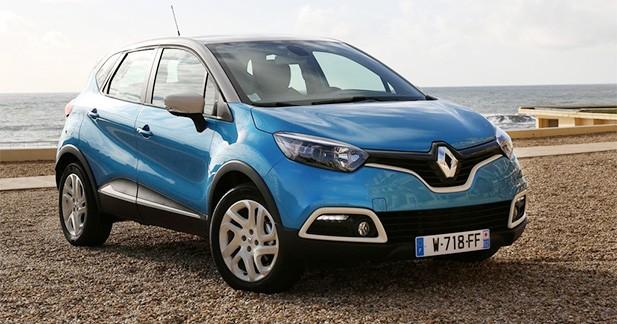 Renault reste en tête des ventes du marché français, devant Peugeot et Citroën
