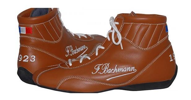 Bottines de course Fernand Bachmann : à chausser pour aller au Mans