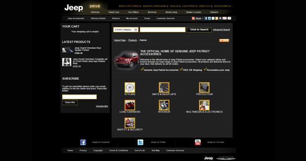 Equiper sa Jeep grâce à la boutique en ligne de la marque