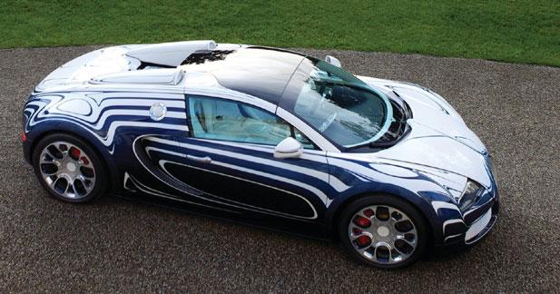 Veyron Grand Sport L'Or Blanc : pierre précieuse