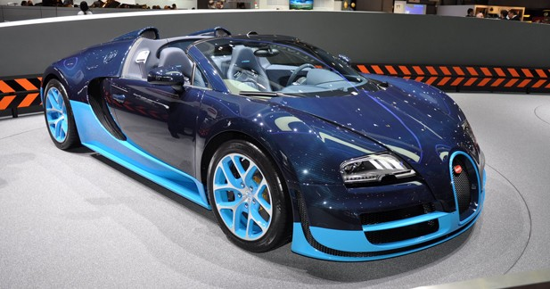 Bugatti Veyron Grand Sport Vitesse : Course aux armements