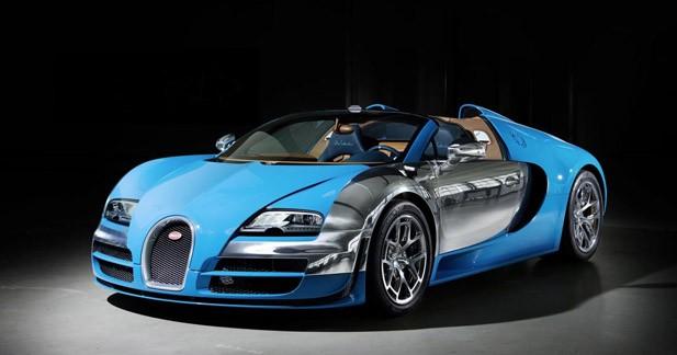 Une nouvelle version de la Bugatti Veyron Grand Sport Vitesse à Genève