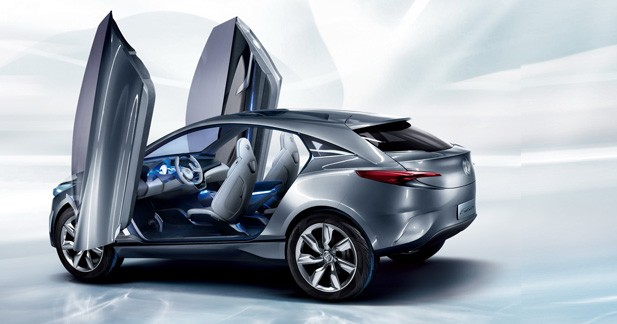 Buick Envision CUV Concept: SUV hybride américano-chinois