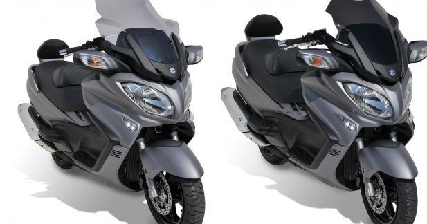 Bulles Ermax pour Suzuki Burgman 650 2013