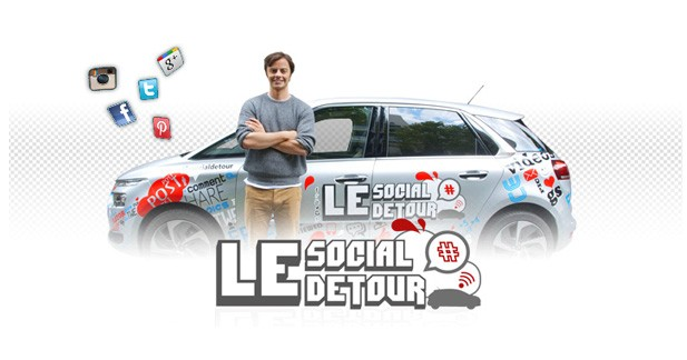 Social Detour : un C4 Picasso connecté à la rencontre des français