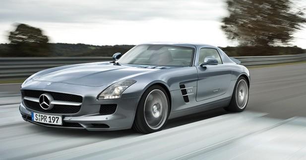 La Mercedes SLs entre en production