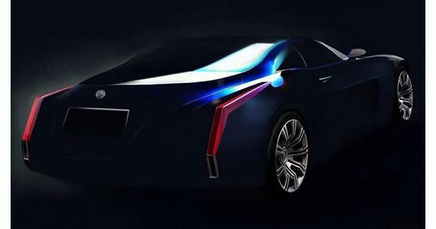 Cadillac dévoile deux images d'un futur concept car
