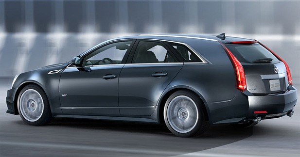 Cadillac CTS-V Sport Wagon : le break se dévergonde