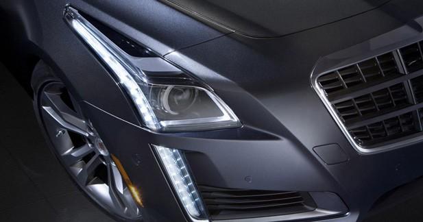 Cadillac CTS 2014 : Généreux teaser
