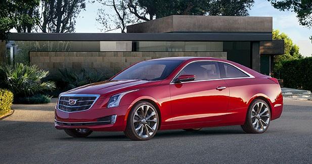 Cadillac ATS Coupé : objectif Europe